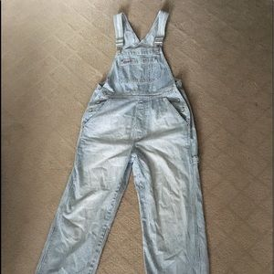Vintage Gap Overalls with Stripes
